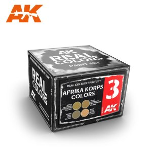 AK INTERACTIVE RCS003 - Afrika Korps Colors Set