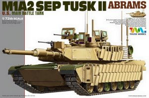 TIGER MODEL 9601 - 1:72 M1A2 SEP TUSK II Abrams