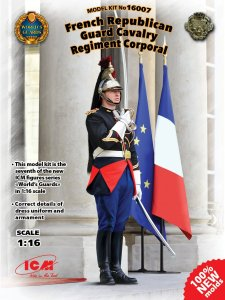 ICM 16007 - 1:16 French Republican Guard Cavalry Regiment Corporal