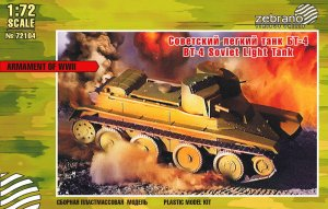 ZEBRANO 72104 - 1:72 BT-4 Soviet Light Tank