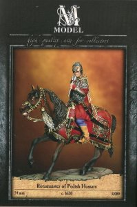 M-MODEL 32089 - 54 mm - Rotamaister Of Polish Hussars 1670