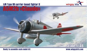 WINGSY KITS D5-01 - 1:48 Mitsubishi A5M2b Claude IJN Type 96 carrier-based fighter II