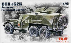 ICM 72521 - 1:72 BTR-152K, Soviet Armored Personnel Carrier