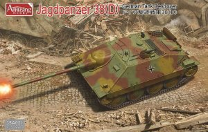 AMUSING HOBBY 35A021 - 1:35 Jagdpanzer 38(D) German Tank Destroyer