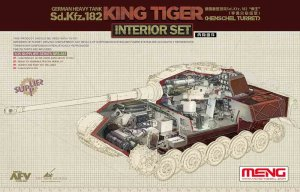 MENG MODEL SPS037 - 1:35 Sd.Kfz.182 King Tiger (Henschel Turret) Interior Set
