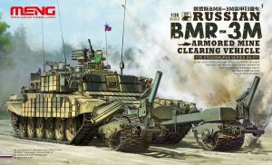 MENG MODEL SS011 - 1:35 Russian BMR-3M Armored Mine Clearing Vehicle