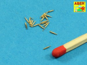 ABER 1:400L-10  - 1:400 Set of 20 pcs (12,7mm) Vickers Mk.III machine gun barrels for Royal Navy ships