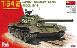 MINIART 37012 - 1:35 T-54-2 Soviet Medium Tank Mod.1949