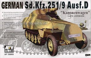 AFV CLUB 35068 - 1:35 Sd.Kfz. 251/9 ausf.D Late