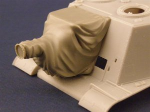 PANZERART 35020 - 1:35 ISU 122/152 Mantlet with canvas cover