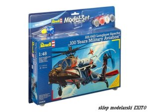 REVELL 64896 - 1:48 AH-64D Longbow Apache 100 Years Military Aviation