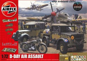 AIRFIX 50157 - 1:72 D-Day Air Assault - Gift Set