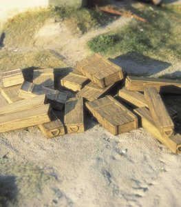 M-MODEL 35023 - 1:35 German Ammo Boxes
