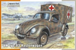 SPECIAL HOBBY A35005 - 1:35 VW typ 83 Kastenwagen