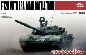 MODELCOLLECT UA72007 - 1:72 T-72B w/ ERA Main Battle Tank