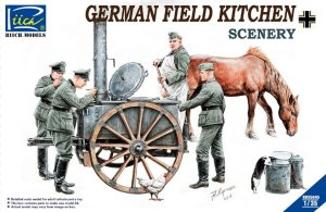 RIICH MODELS 35045 - 1:35 German Field Kitchen w/ Soldiers
