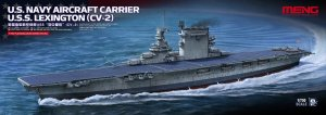 MENG MODEL PS002 - 1:700 USS Lexington (CV-2) US Navy Aircraft Carrier