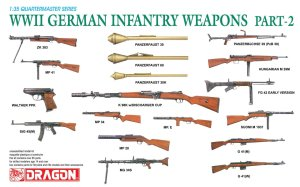 DRAGON 3816 - 1:35 WWII German Infantry Weapons Part 2
