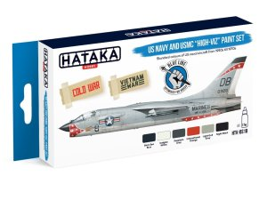 HATAKA BS18 - US Navy and USMC high-viz Paint Set
