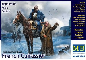 MASTER BOX 3207 - 1:32 French Cuirassier - Napoleonic Wars Series