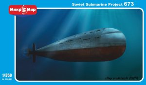 MIKROMIR 350023 - 1:350 Soviet Submarine Project 673