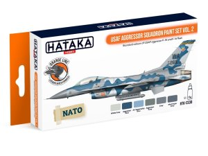 HATAKA CS30 - USAF Aggressor Squadron paint set vol. 2
