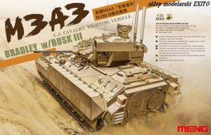 MENG MODEL SS006 - 1:35 U.S.Cavalry Fighting Vehicle M3A3 Bradley w/BUSK III