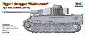 RYE FIELD MODEL 5005 - 1:35 Tiger I Gruppe Fehrmann