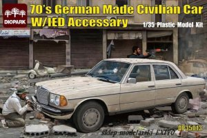 DIOPARK 35013 - 1:35  70's German Made Civilian Car w/IED Accessary