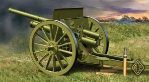 ACE 72252 - 1:72 76.2mm (3 inch) Soviet gun 1902/1930 (with limber)