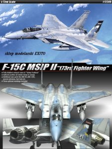 ACADEMY 12506 - 1:72 F-15C MSIP II 173rd Fighter Wing