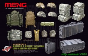 MENG MODEL SPS015 - 1:35 Modern U.S. Military Individual Load-Carrying Equipment