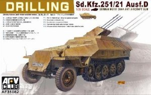 AFV CLUB 35082 - 1:35 Sd.Kfz. 251/21 ausf.D Drilling