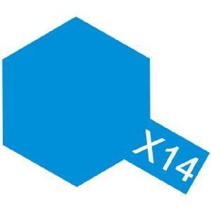 Tamiya 81014 X 14 Farba Akrylowa Sky Blue 23 Ml