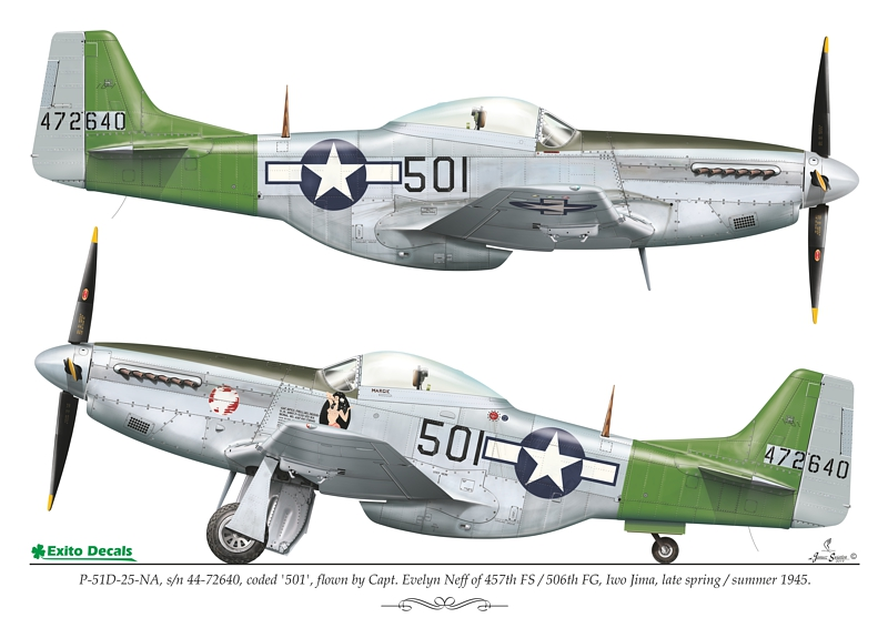 exito decals p-51