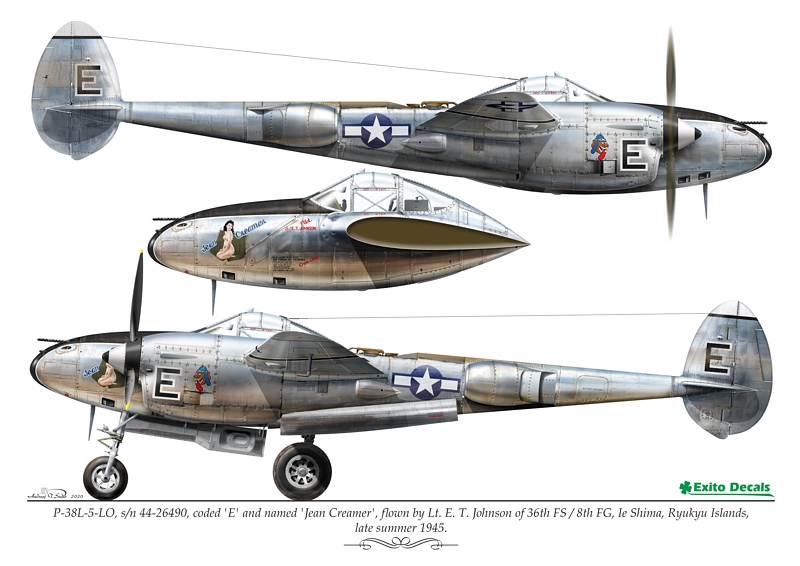 exito decals p-38