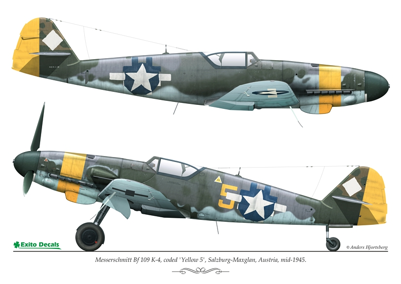 exito decals bf-109